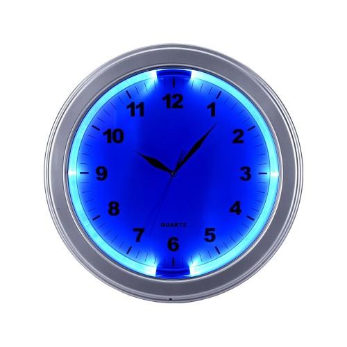 Часы настенные Паламос, серебристый