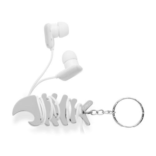 Брелок-держатель для наушников Herring, серебристый