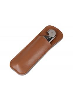 Футляр для штопора из искусственной кожи Corkscrew Case, коричневый