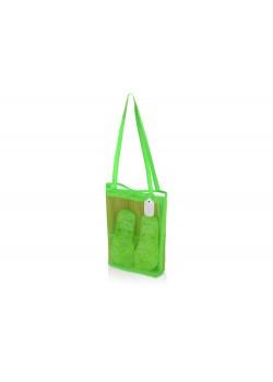 Пляжный набор Тропики с брелоком Ярлык, зеленый