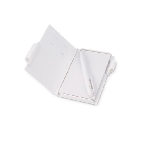Записная книжка Альманах с ручкой, белый