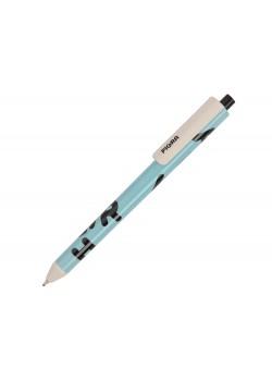 Ручка пластиковая шариковая Pigra P03 с круговым нанесением