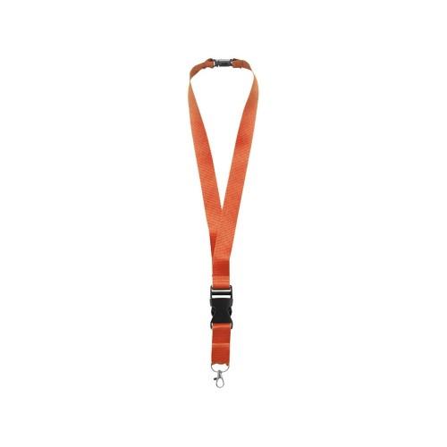 Шнурок Yogi со съемным креплением, оранжевый