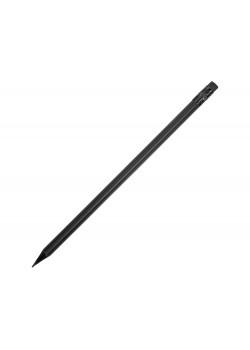 Карандаш чернографитовый трехгранный Blackie 3D, черный