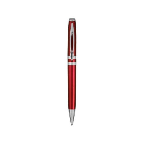 Ручка шариковая Невада, красный металлик