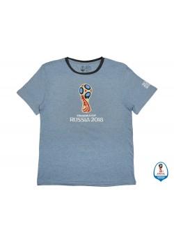 Футболка 2018 FIFA World Cup Russia™ мужская, голубой/черный