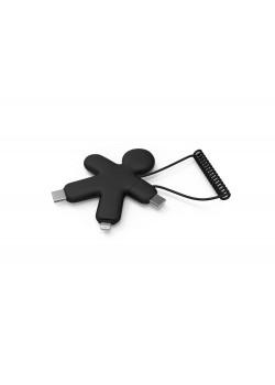 Зарядный кабель BUDDY ECO, черный