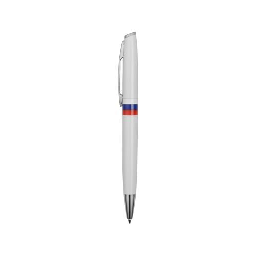 Ручка шариковая Отчизна, белый/триколор