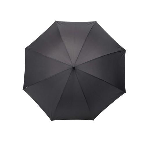 Зонт-трость Rosari, полуавтомат 27, черный/бронзовый