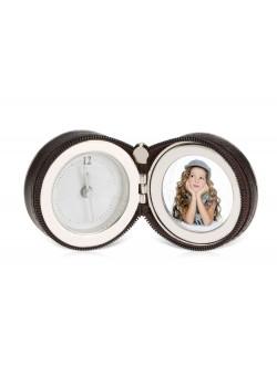 Часы Большое путешествие, коричневый/серебристый