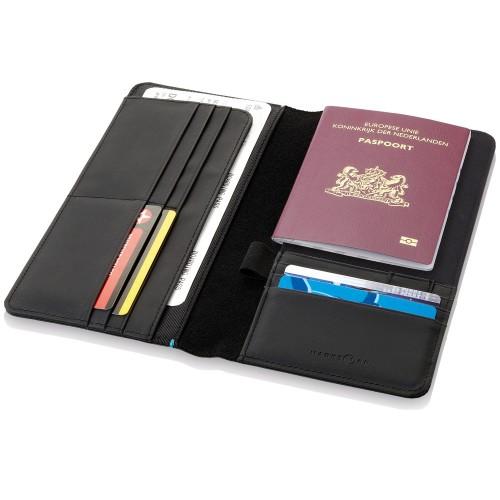 Бумажник дорожный Odyssey, черный