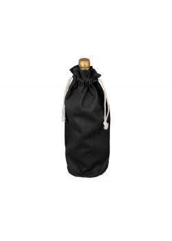 Хлопковая сумка для вина, черный