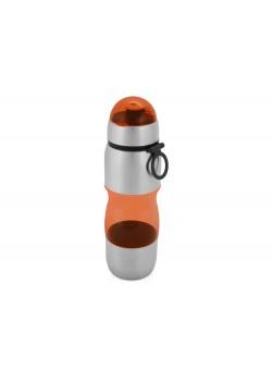 Бутылка спортивная Движение 650мл, оранжевый