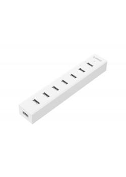 USB-концентратор Orico H7013-U3-АD (белый) с блоком питания
