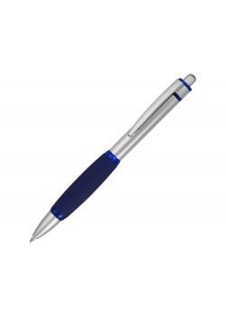 Ручка шариковая Мелодия, синий/серебристый