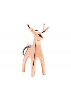 Подставка для колец Anigram олень, медь