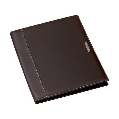 Папка А4 Millau на молнии от Balmain с блокнотом, коричневый