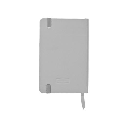 Блокнот классический карманный Juan А6, серебристый