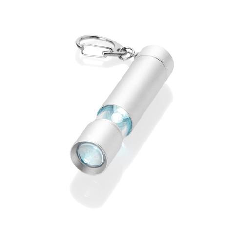 Брелок-фонарик Lepus, серебристый