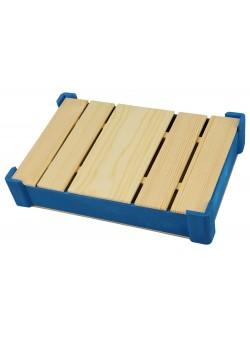 Подарочная деревянная коробка, синий