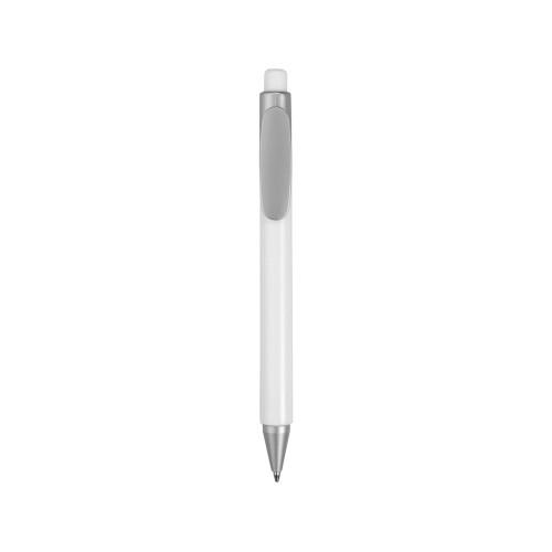 Ручка шариковая Athens черные чернила, белый
