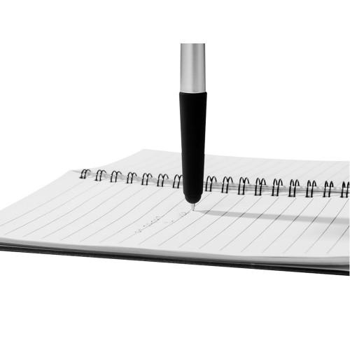 Ручка - стилус Gumi, серебристый, черные чернила