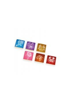 Шоколад коллекционный 1000х5г «Знаки зодиака» горький золото