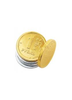 Шоколадные монеты 500х6г «Рубль»