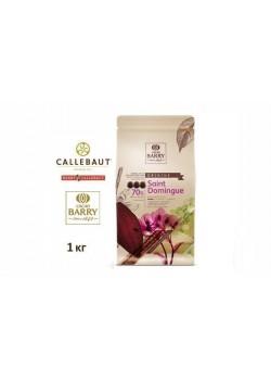 Barry Callebaut - Горький шоколад 70% какао Saint-Domingue CHD-Q70SDO-RT-U68 1кг в коробке по 6шт.