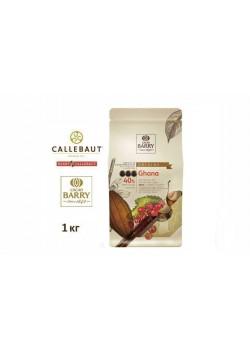 Barry Callebaut - Молочный шоколад 40% какао GHANA CHM-P40GHA-2B-U73 1кг в коробке по 6шт.