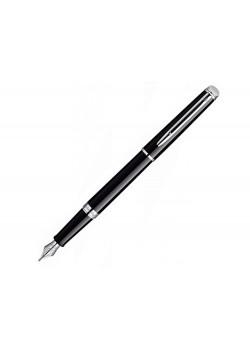 Ручка перьевая Waterman Hemisphere Mars Black CT F, черный/серебристый