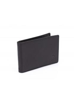 Зажим для денег Cross Classics Black, кожа наппа, гладкая, чёрный, 11 х 1,5 х 7 см