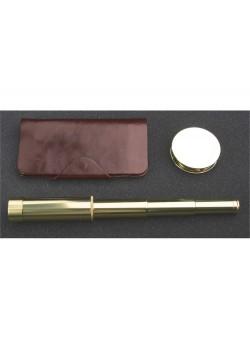 Набор: трэвел-портмоне, подзорная труба, лупа Каравелла Laurens de Graff