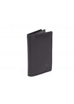 Визитница Cross Classics Black, кожа наппа, гладкая, чёрный, 10,5 х 7,5 х 2 см