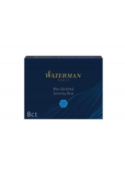 Чернила в картридже Waterman Ink cartridge Standard Blue (в упаковке 8 картриджей)