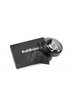 Набор: ремень, футляр для кредитных карт. Baldinini
