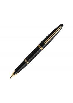 Ручка перьевая Waterman Carene Black Sea GT F, черный/золотистый