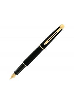 Ручка перьевая Waterman Hemisphere Mars Black GT F, черный/золотистый