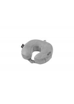 Подушка для путешествий WENGER с эффектом памяти, полиэстер/флис, серая, 27 x 8 x 26 см