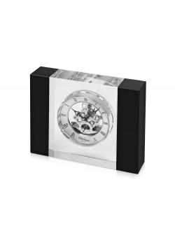 Часы настольные Ottaviani, черный/серебристый