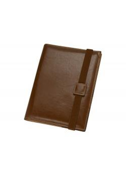Папка-портфолио Alessandro Venanzi с блокнотом А5, коричневый